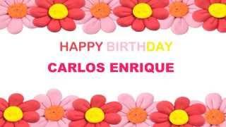 Carlos Enrique   Birthday Postcards & Postales