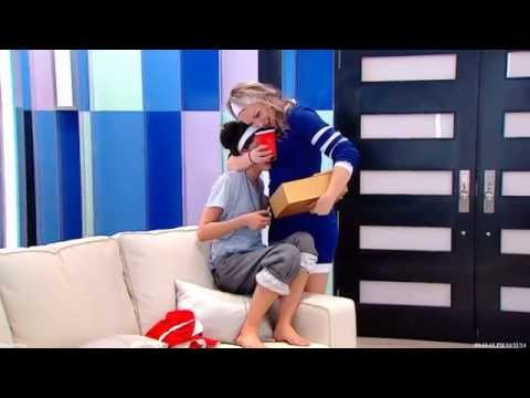 Big Brother Canada 2 - Neda Gets Her Head Pressed Against Allison's Boobs Then Touches Them video