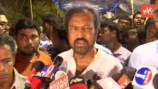 Manchu Mohan Babu Emotional on YS Vivekananda Reddy Incident | YS Jagan | Manchu Vishnu
