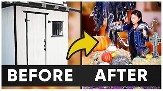 HALLOWEEN DECOR IDEAS | BEFORE & AFTER!
