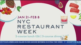 Restaurant Week Kicks Off In New York