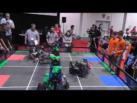 VEX World Championships 2013 Arts Division Match #65