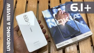 NOKIA 6.1 PLUS WHITE UNBOXING AND REVIEW