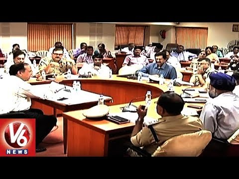 CS SK Joshi Holds Video Conference With Govt Officials Over 4th Phase Haritha Haram | V6 News