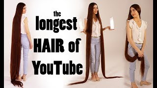 Longest hair of Youtube - Real-life Rapunzel video shooting
