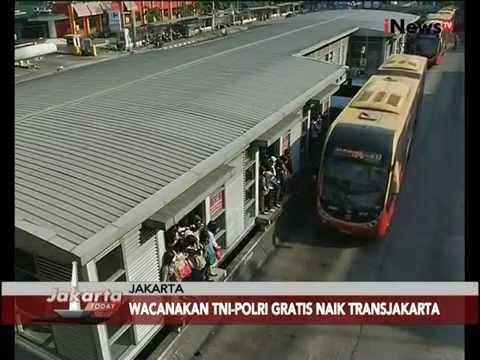 Ahok Wacanakan Naik TransJakarta Gratis Bagi TNI-Polri Dan Pelajar- Jakarta Today 28/07