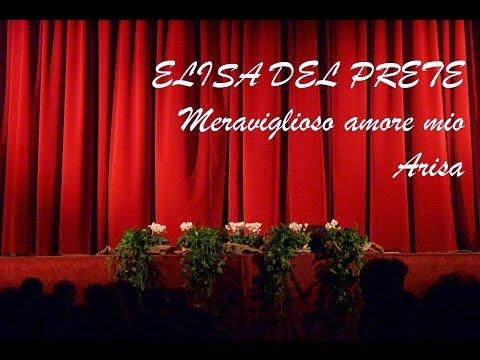 ELISA DEL PRETE 05 Meraviglioso amore mio - Arisa
