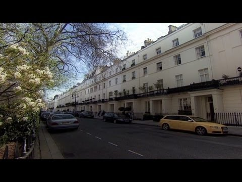 Prime London neighborhoods empty