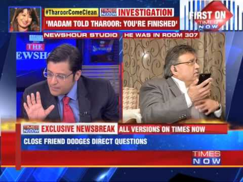 Shashi Tharoor's friend dodges questions