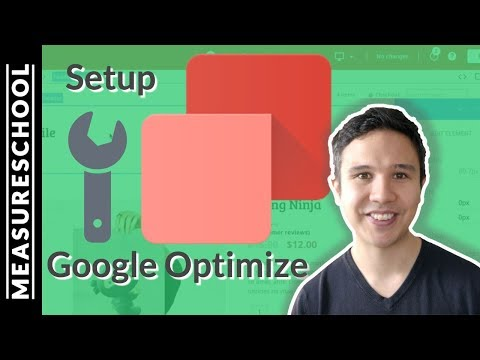 How to setup and install Google Optimize