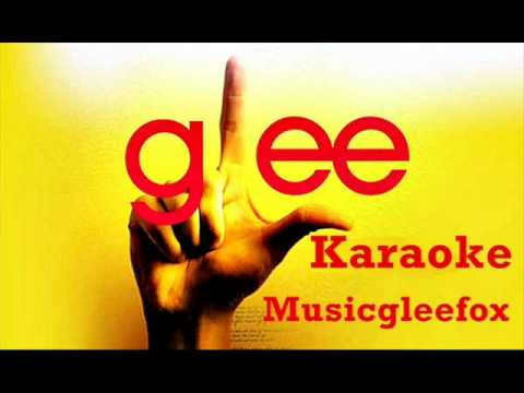 lean on me Karaoke  Glee Cast