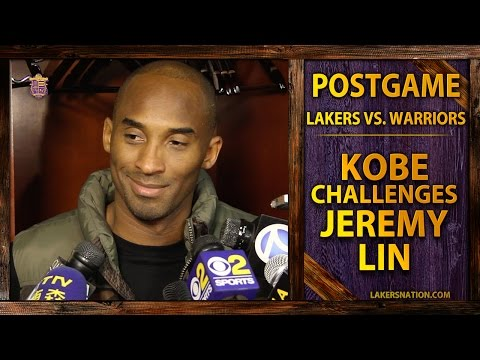 Lakers Post-Game: Kobe Bryant's Challenge To Jeremy Lin