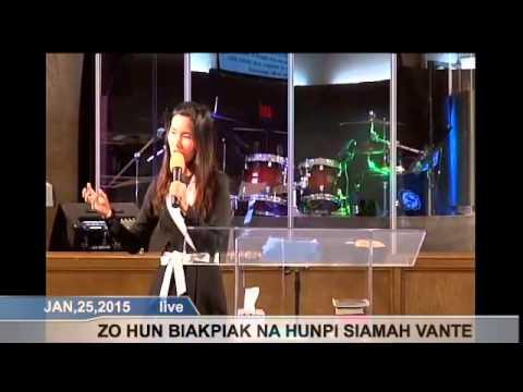 [FGATulsa]#1131# Jan 25,2015 Zomi Service (Pastor Van te)