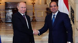 Putin and  Egypt's Sisi make joint statement after meeting in Cairo