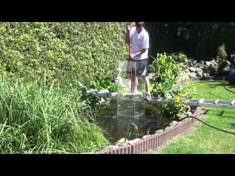Mein Koi Aussichtsturm Im Gartenteich - Die Reinigung