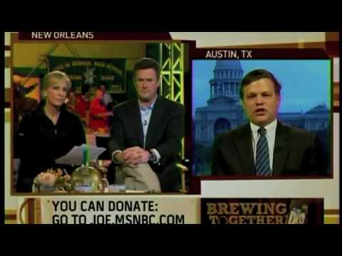 Vitter Discusses Hurricane Katrina and Levees on Morning Joe