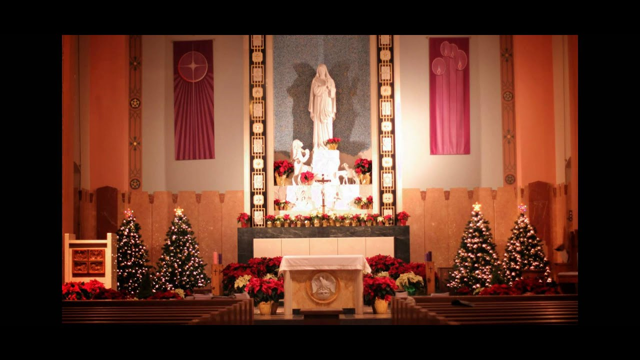 Our Lady of Lourdes Church - Christmas Church Decorators ...