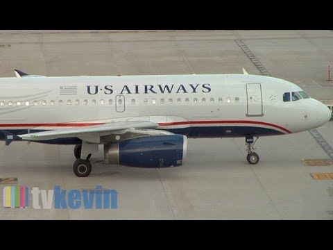 US Airways American Airlines Merger - Pre-Merger Video - US Airways Hub Phoenix, Arizona
