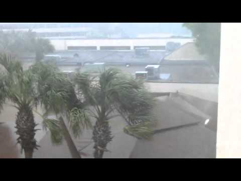 Tornado damage - Orlando