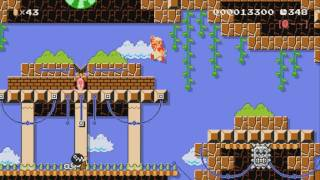 Mario's Adventures World 1-1 by TheLaw ~ SUPER MARIO MAKER ~ NO COMMENTARY