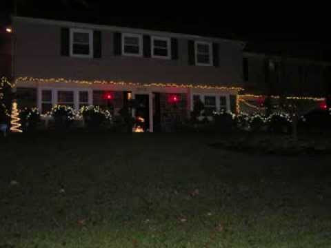 A few of the many homes decorated for the holidays in the Montpelier, MD community. http://montpelieronline.org.