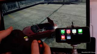 GTA V iPhone Carplay with Siri