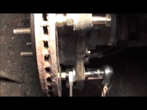 Rotor Rusted to Hub Remove Rusted Brake Rotors