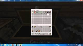 Minecraft como hacer un baul y un horno HD