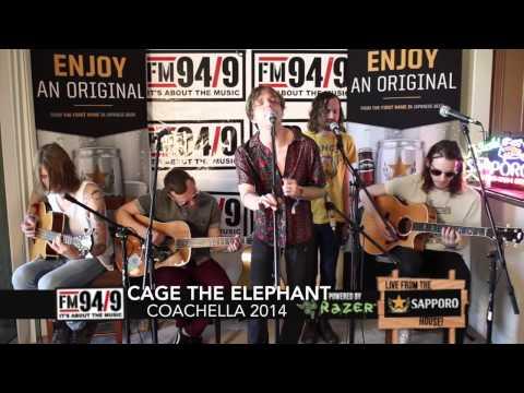 "FM 94/9 Coachella 2014: Cage The Elephant ""Come A Little Closer"""
