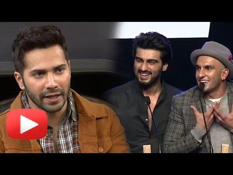 AIB KNOCKOUT | Varun Dhawan Reacts | Ranveer Singh, Arjun Kapoor
