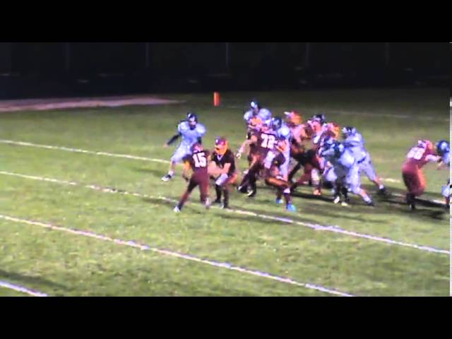 9-27-13 - Mikey Gutierrez scores from 7 yards out (Brush 6, University 0)