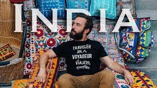 Inside an INDIAN SPICE MARKET | Udaipur Rajasthan India Travel Vlog