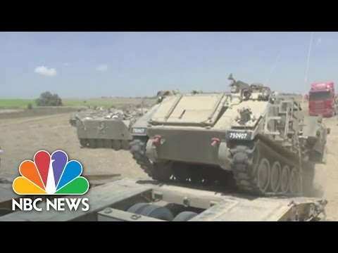 Israel Pulls Troops Out Of Gaza | NBC News