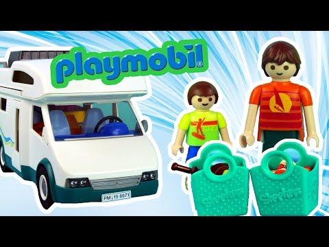 Playmobil Summer Fun & Shopkins • Pakowanie Na Wakacje • Kamper • Bajki Po Polsku