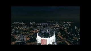 Landing a TITAN Plane on the Maze Bank in GTA 5!