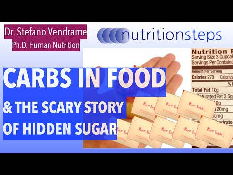 Nutrition Steps 4.6 - Food Sources of Carbs and Added Sugar
