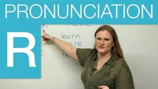 Pronunciation - How to make the 'R' sound in English