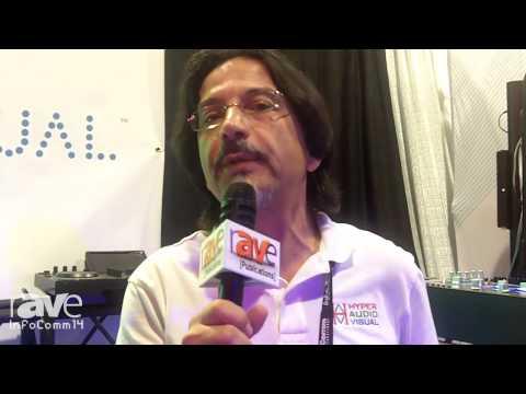InfoComm 2014: Hyper Audio Visual Interactive Dance Floor Panels