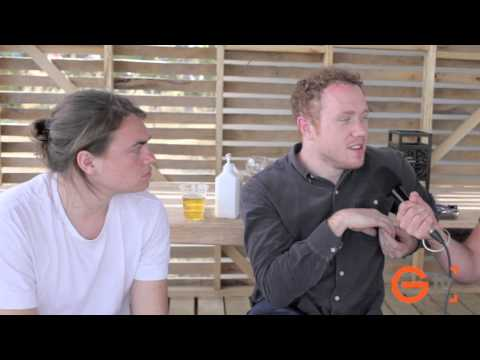 Globalize TV Interviews Bombay Bicycle Club at Falls Festival Marion Bay 2012