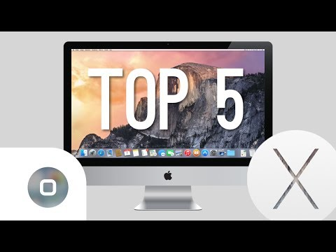 OS X Yosemite - Top 5 Features! (deutsch)