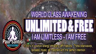 3D SOUND 1000's Of Positive Affirmations Meditation Awaken Energy Vibration Luck Health Paul Santisi