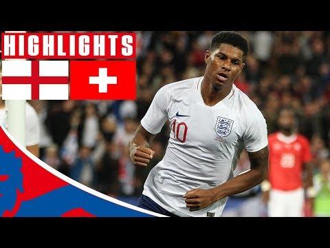 England 1-0 Switzerland | Rashford Volley Wins it! | Official Highlights