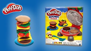 Play Doh Kitchen Creations Burger Barbecue - Playset #001