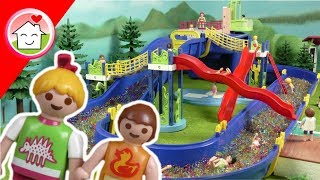 Playmobil Film deutsch - Im Wasserperlen Aquapark - Waterplay Niagara - von Familie Hauser