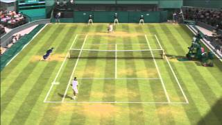 Czech Let's Play - Grand Slam Tennis 2 demo - part 2