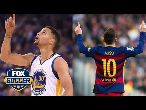Steph Curry and Leo Messi just did the ultimate jersey swap