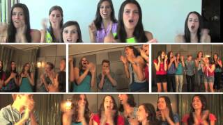 Don't Text and Drive Step Rally - Cimorelli and Ryan Beatty