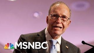 CNBC: President Donald Trump To Name Larry Kudlow His WH Economic Adviser | Velshi & Ruhle | MSNBC