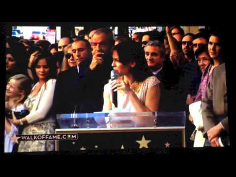 Mariska Hargitay LIVE Hollywood Walk of Fame Ceremony AND exclusive interview