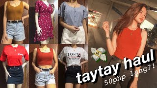 TAYTAY TRY-ON HAUL 2019 ((murang summer outfits))